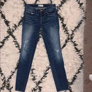 Madewell skinny skinny jean 27